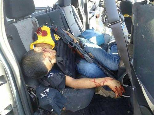 Fotografías de varios ejecutado en balacea en #Tampico