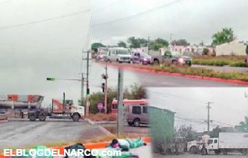 Fotos de la balaceras y los bloqueo de Reynosa