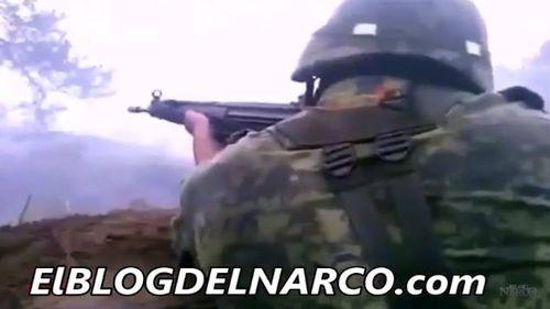 Vídeo censurado de balacera entre Semar y Sicarios del CDG en Matamoros