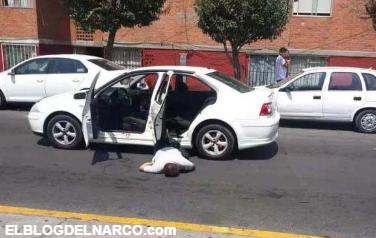 Vídeo capta el momento en que sicarios ejecutan a dos sujetos en Puebla