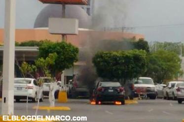 Imágenes de el enfrentamiento entre los Zetas y Militares en @Cd_Victoria, Tamaulipas