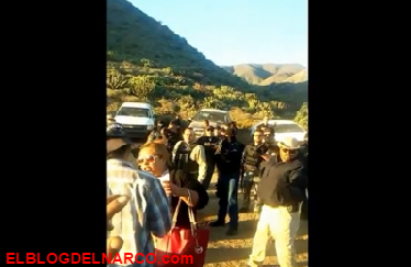 Policías golpean y encañonan a rancheros, a sus esposas e hijos en BC (VIDEO)