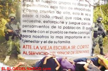 VÍDEO SIN CENSURA, Impone CDG su ley; 'Enjuicia' y ejecuta a 6 contras en Matamoros