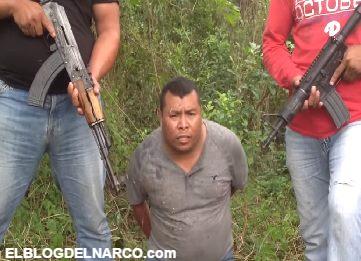 Vídeo en donde Cartel Jalisco Nueva generación ejecuta a líder de los Zetas en Veracruz