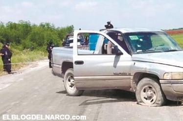 Fotos de la emboscada fallida; ocho sicarios abatidos. Atacan a convoy de federales en San Fernando