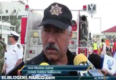 Vídeo donde General llama miedosos a los ciudadanos en Tamaulipas y pide que civiles enfrenten a los sicarios