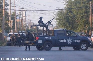 Video, Sicarios del Cártel del Golfo obligaron a Federales a retirarse durante balacera en Reynosa