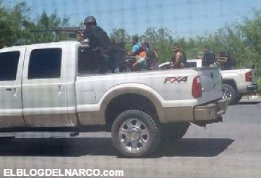Fotos, Sicarios del CDG fuertemente armados