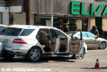 Mas fotografías sicarios abatidos durante enfrentamiento en centro de Nuevo Laredo