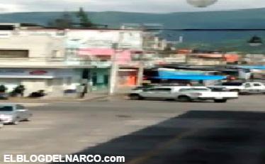 Video, Balacera en pleno centro de Veracruz, hay un sicario abatido