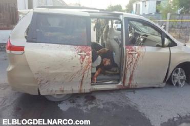 Fotografías de dos sicarios abatidos y tres civiles resultaron heridos por balas pérdidas