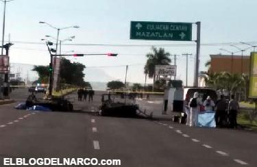 Vídeo, A granadazos comando de 40 sicarios rescata a detenido, mata 4 soldados y hiere a 10 mas en Sinaloa