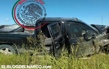 Fotogalería, En camionetas blindadas sicarios atacan convoy de la Policía en Tamaulipas dejando un elemento muerto