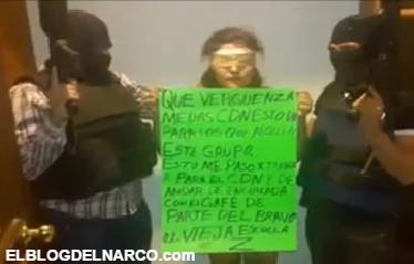 Video donde Zetas Interrogan a joven mujer colaboradora del CDN a quien despues ejecutaron en @Cd_Victoria
