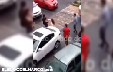 Video, Padres de joven ebria le disparan a sus compañeros
