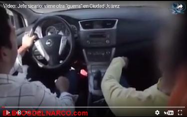 """Vídeo, Jefe sicario, viene otra """"guerra"""" en Ciudad Juárez"""