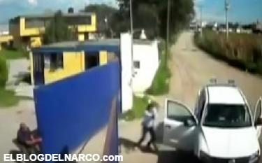 Vídeo, Empresario de la construcción repele a asaltantes a balazos en Edomex