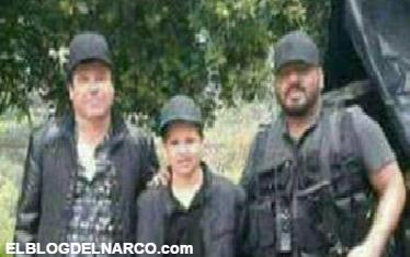 Fotos de el Chapo Guzmán junto a El Cholo Iván el temible brazo derecho del narcotraficante