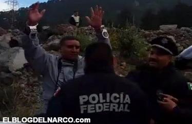 Vídeo, Federales detienen a reportero que documentaba el caso de los cuatros ejecutados