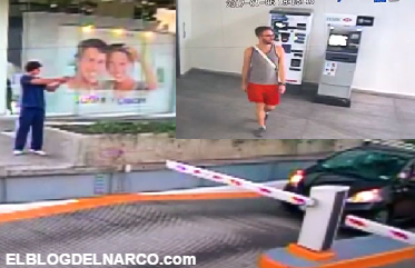 Video, captan momento en que sicario intenta ejecutar y balea a oficial del Consulado de EU en Guadalajara