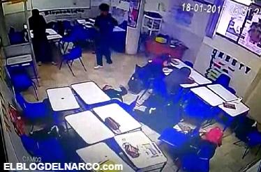 Vídeo completo y sin censura del tiroteo en escuela de Monterrey