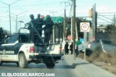Video de la Balacera en Nuevo Laredo deja