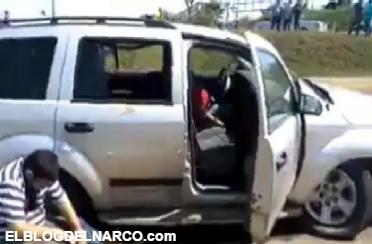 Vídeo sobre la ejecución de un líder Cañero y chofer por Grupo Armado en Veracruz