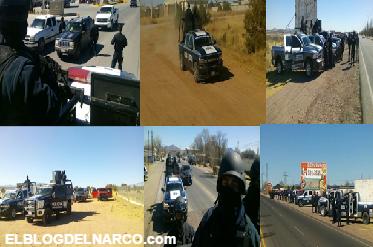 Fotografías Fuerzas de reacción inmediata (FRIM)