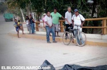 Fotos, ¡Horror! Arrojan en la vía pública el cuerpo desmembrado de un niño de 14 años con narcomensaje