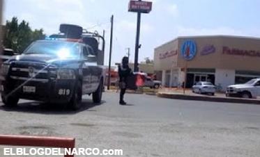 Enfrentamiento entre Fuerza Tamaulipas y el Cartel del Golfo en Miguel Aleman, Tamaulipas (VÍDEO)