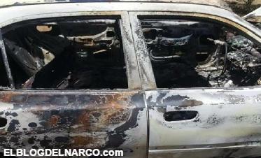 Encuentran a una joven calcinada dentro de auto en Durango