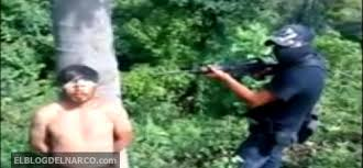 Vídeo fuerte donde ejecutan a un miembro del Cartel del Golfo repuesta de GU y los Zetas
