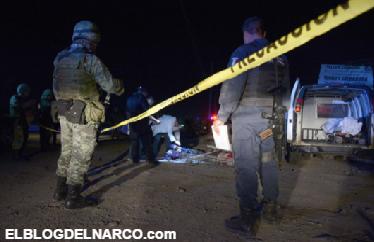 Mas fotografías fuertes de los siete ejecutados en Sinaloa