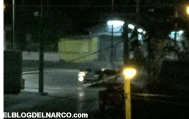 Vídeo de camionetas en caravana repletas de sicarios y con leyenda (M42) entran a balazos a Reynosa