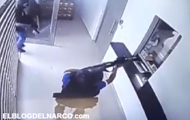 Fuertemente armados intentan asaltar una casa de cambio en Reynosa pero se llevan una gran sorpresa, estaba demasiado blindado el lugar