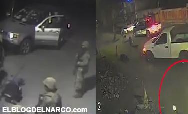VIDEO COMPLETO: Militares revientan camioneta BMW blindada y rematan a huachicolero despues de que 4 militares fueron abatidos en Puebla