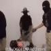 Un vídeo muy fuerte donde CTNG-CJNG decapita y descuartiza a un sujeto amarrado de pies y manos
