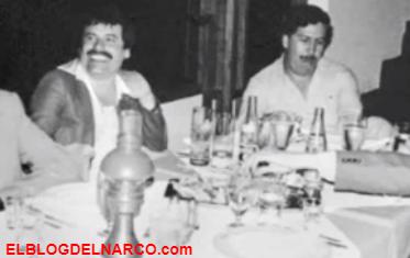 Fotografías exclusiva de El ChapoGuzmánjunto a Pablo Escobar y otras imágenes Guzmán Loera