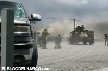 """Militares se enfrentan con sicarios de """"El Pelochas"""", en Tamaulipas (Vídeo)"""