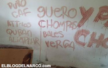 Fotos, Dejan decapitado y narcomensaje escrito con sangre en Tijuana