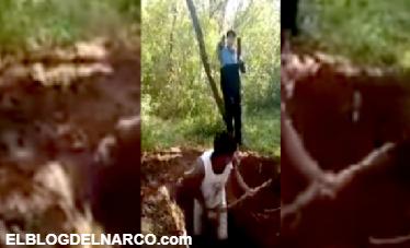 Hombres les hacen cavar sus propias tumbas antes de ser ejecutados (VÍDEO)