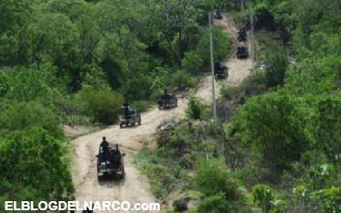 Sicarios en fuerte enfrentamiento contra agentes y militares en Chihuahua (VÍDEO)