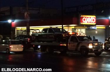 Vídeo Audio: Comando armado refaguea a policías en Celaya, Guanajuato; hay tres heridos