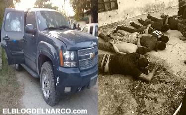 FOTOS y VÍDEO: Zetas se dan topon con policías y muere un líder Zeta en Tamaulipas
