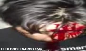 Vídeo donde El Cartel de Sinaloa esta torturando un Zeta y envía mensaje