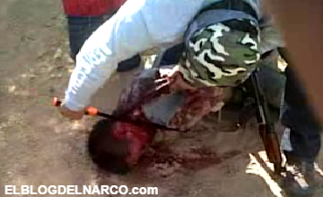 Vídeo terrible donde el Cartel del Golfo decapitan a cuatro de los Zetas