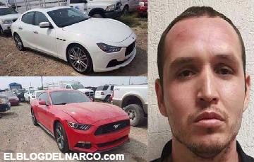 Fotos de los Maserati 2015 que le tumbaron al Comandante Wero Cleofas en #Reynosafollow