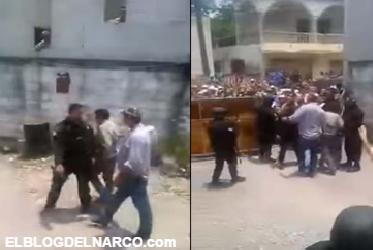 VÍDEO: Tras detención negocian y liberan a líder del narco en Tamaulipas