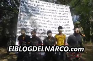 Vídeo en donde el Cartel del Golfo interroga a 6 del Cartel de Jalisco antes de ejecutarlos