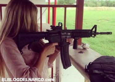 Fotos la Novia de Alan Pulido, Fan de las armas y de Gerardo Ortiz